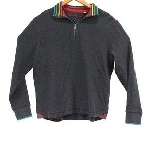 Robert Graham Men's Rainbow 1/4 Zip Sweater